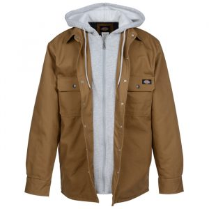 Dickies Hooded Duck Quilted Jacket