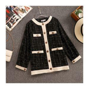 Tweed Winter Long Sleeve Jacket