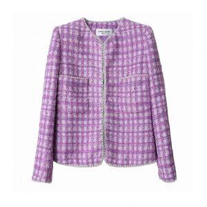 Winter designer fashion tweed jackets