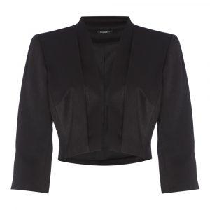 3/4 Sleeve Cropped Bolero Jacket
