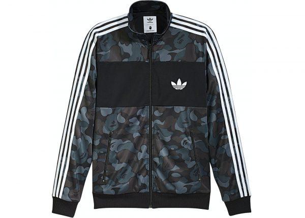 Adidas Camo Track Black Jacket