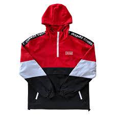 Anorak Jacket RedWhiteBlack