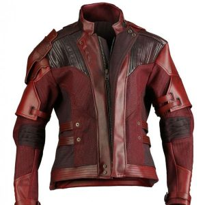 Avengers Endgame War Star Lord Leather Jacket