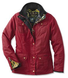 Barbour Red Jackets