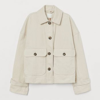 Boxy Corduroy Jacket
