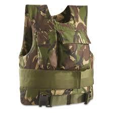 British Military Surplus DPM Ballistic Flak Jacket