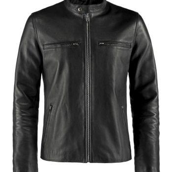 Cafe Racer Black Jacket