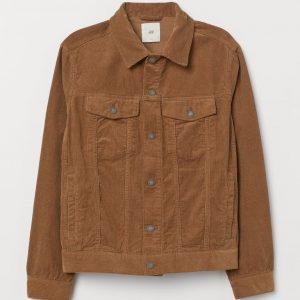 Chest Pocket Corduroy Jacket