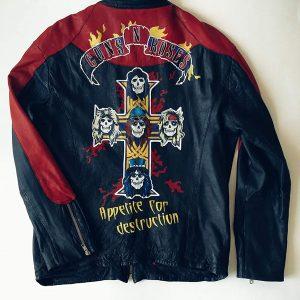Custom Men Leather Jacket
