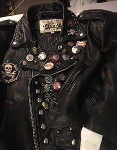 Custom Punk Leather Jacket