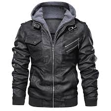 Custom Zipper Leather Jackets