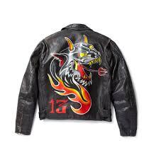 Devil Painted Custom Leather Jacket