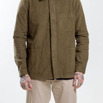 Green Worker Corduroy Jacket