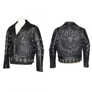 Mens Customized Leather Jacket