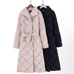 Sherpa Parkas Thicker Warm Plaid Bubble jacket fashion