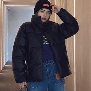 New Sherpa Solid thicken zipper warm windproof jackets