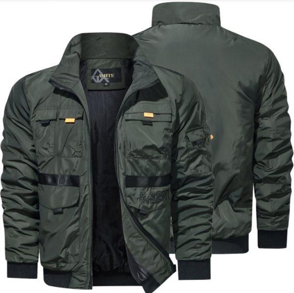Harrington Windbreaker Outdoor Clothing Jacket Men Fashion