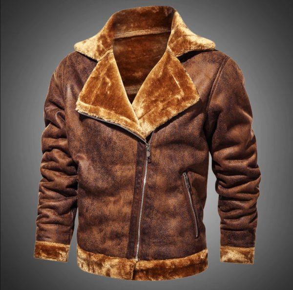 Harrington Slim Fit Retro Fashion Jacket Men