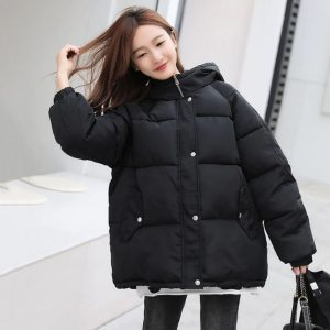 Bomber Thick Quitted Cotton Jackets