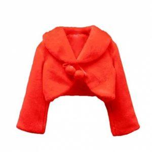 Shawl Flower Girls Long Sleeve Bolero Jacket