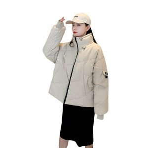 Skirts Students' loose bread thickened coat down jacket