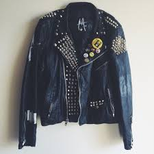 Woman Zipped Custom Leather Jacket