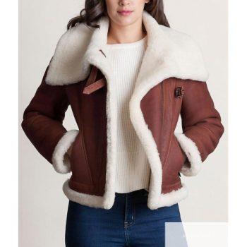 Women's Shearling Sheepskin Leather Jacket