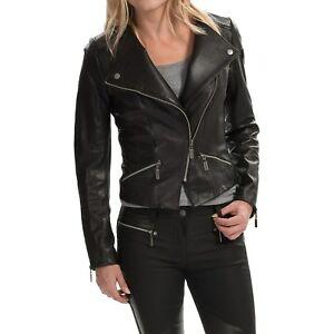 Barbour Ladies' Shadow Mid Leather Jacket