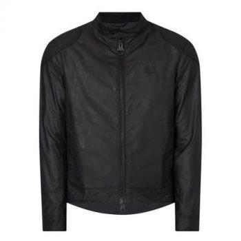 Barbour Leather Biker Jacket