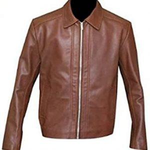 John Wick Keanu Reeves Brown Leather Jacket