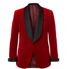 Kingsman Red Slim Fit jacket