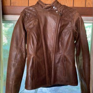 Ladies' Triumph Barbour leather jacket