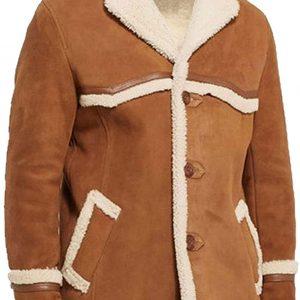 Men's Kingsman Leather Coat Jacket