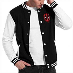 Mens & Womens Classic Deadpool Baseball Uniform Jacket