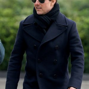 Mission Impossible Blue Tom Cruise Coat