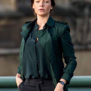 Mission Impossible Rebecca Ferguson Green Coat