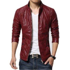 Shaft Samuel Jackson John Shaft Brown Leather Coat
