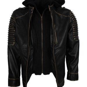 Suicide Squad Black Leather Jacket