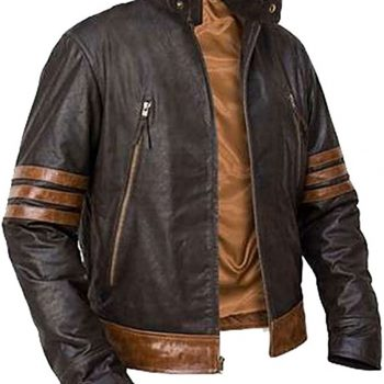 X-Men Brown Leather Jack