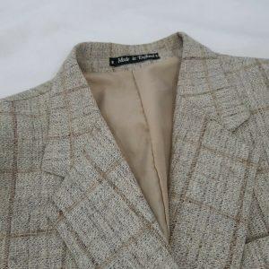 Vintage 60s Wool Jacket Blazer Size 44 Harbarry England