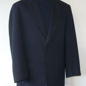 M & S Marks & Spencer Mens Navy Blue Cotton Blazer/Jacket 40/42M