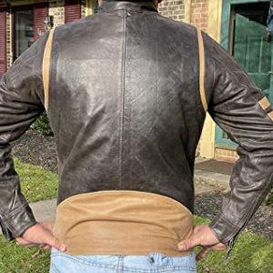 X-Men Wolverine Origins Bomber Style Motorcycle Jacket