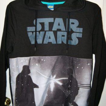 Star Wars Black Darth Vader Hoodie Jacket Mens