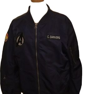Captain Marvel Avengers Bomber Jacket XL Hero Within
