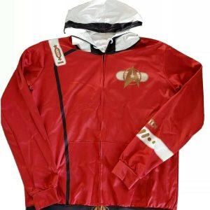 STAR TREK Hoodie Zip-Up Jacket Coat Cosplay Costume