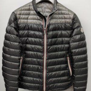 Moncler Daniel Down Jacket Men's size 5 Gray Khaki 100% Authentic Retail $1,080.