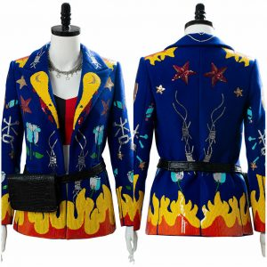 Birds of Prey the Fantabulous of One Harley Quinn Cosplay Jacket