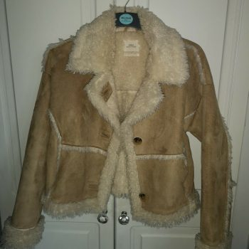 Urban Outfitters Faux Shearling Jacket small