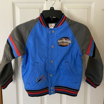 Authentic Disney Vintage Youth Power Rangers Jacket