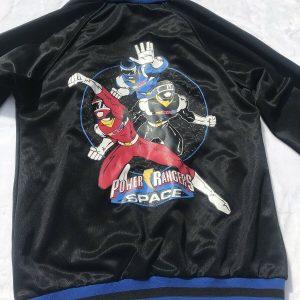 Power Rangers In Space Full Zip VTG 90's Track Jacket